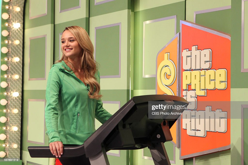 Guest Model Hunter King appearing on the daytime Emmy Award-winning game show THE PRICE IS RIGHT, during its first ever 'œDream Car Week,' beginning Monday, Nov. 18, (11:00 AM-12:00 Noon, ET; 10:00-11:00 AM, PT) on the CBS Television Network.
