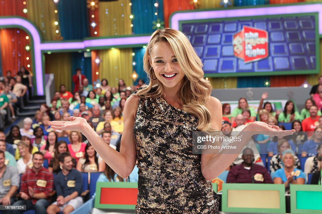 Guest Model Hunter King appearing on the daytime Emmy Award-winning game show THE PRICE IS RIGHT, during its first ever 'Dream Car Week,' beginning Monday, Nov. 18, (11:00 AM-12:00 Noon, ET; 10:00-11:00 AM, PT) on the CBS Television Network.