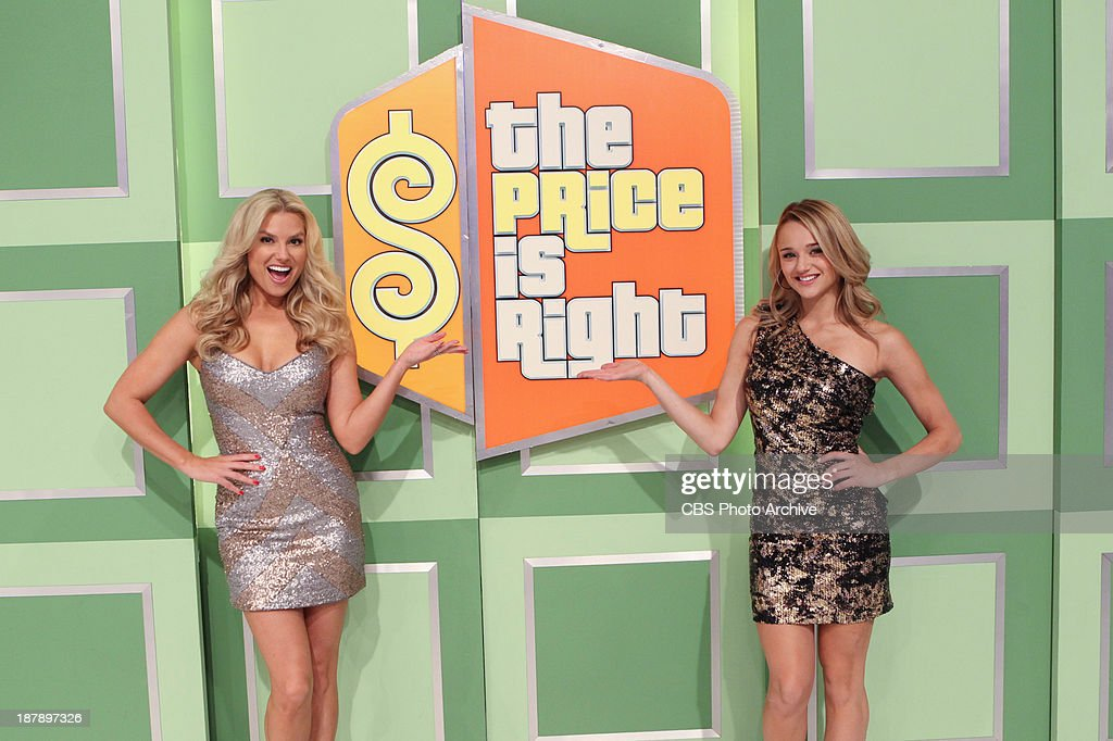 Guest Model Hunter King with Model Rachel Reynolds on the daytime Emmy Award-winning game show THE PRICE IS RIGHT, during its first ever 'Dream Car Week,' beginning Monday, Nov. 18, (11:00 AM-12:00 Noon, ET; 10:00-11:00 AM, PT) on the CBS Television Network.