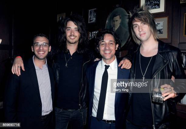 Guest Musician Louis Collins actor Thomas Ian Nicholas and musician Ed Van Egan of Pirates of Panama attend 'The Lost Tree' screening at TCL Chinese...