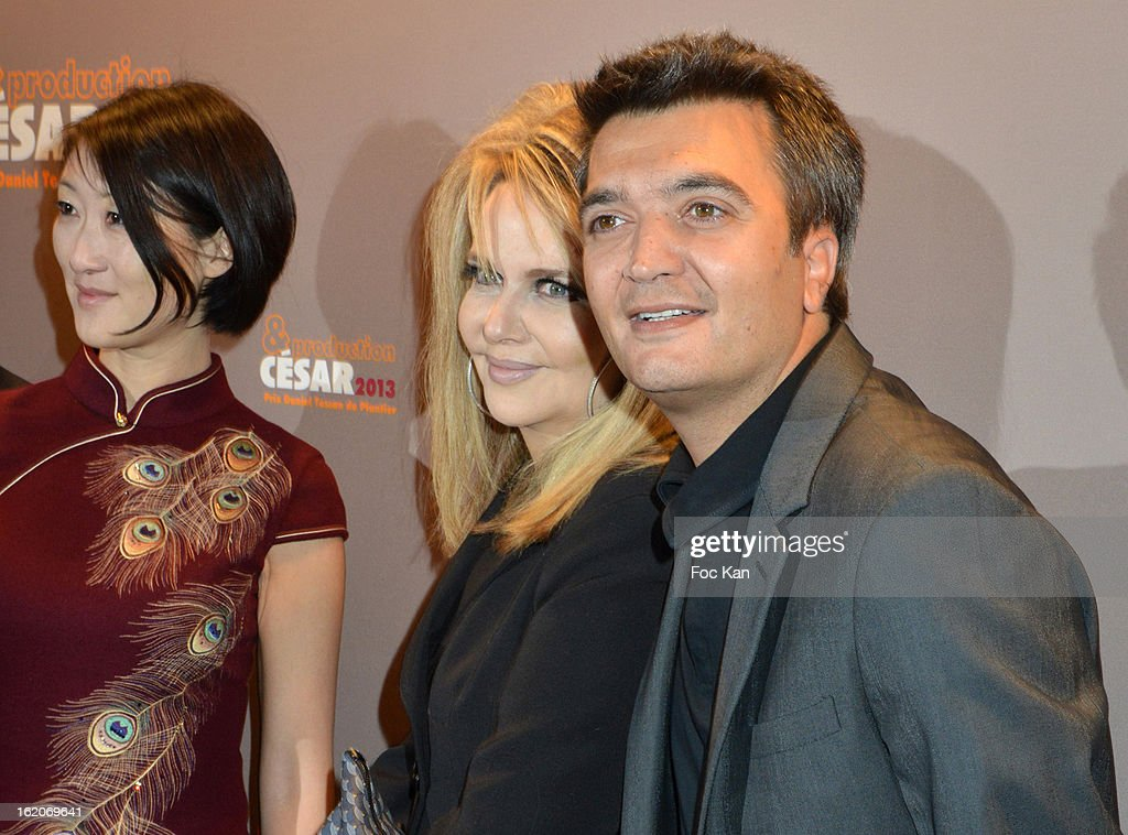 A guest Nathalie Rheims and Thomas Langmann attend the Producer's Dinner - Cesar Film Awards 2013 at Georges V on February 18, 2013 in Paris, France.