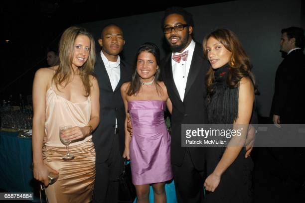 Guest Nook DuBose Elizabeth Meigher Dhani Jones and Naomi Gwin attend American Museum of Natural History Winter Dance at the American Museum of...