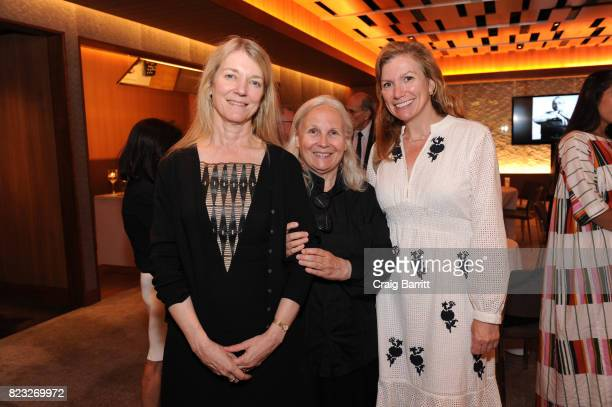 Guest of Honor Brigitte Lacombe President Chan Zuckerberg Science Breakthrough Prize Laureate Cori Bargmann and Margot McGuinness of Breakthrough...