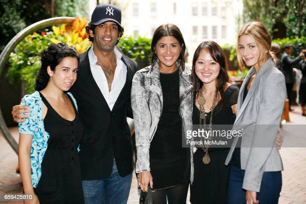 Guest Omeed Malik Ashley Lloret Susan Woo and Olivia Palermo attend SUSAN WOO Spring/Summer 2010 Collection with Jewelry by Lulu Frost at Hudson...