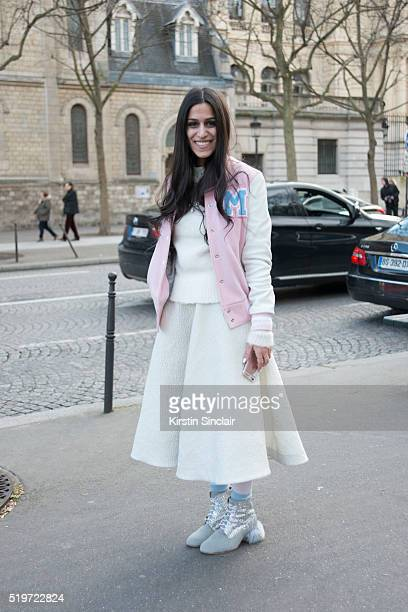 Guest on day 6 during Paris Fashion Week Autumn/Winter 2016/17 on March 6 2016 in Paris France Guest