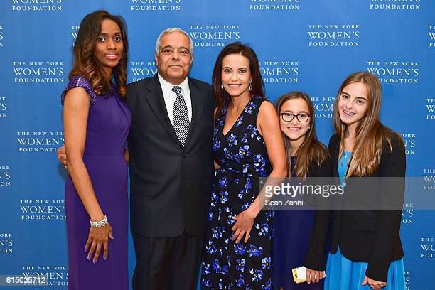 Guest Onsy Habib Dina Habib Powell Kate Powell and Eva Powell attend The New York Women's Foundation's 2016 Fall Gala at The Plaza on October 13 2016...