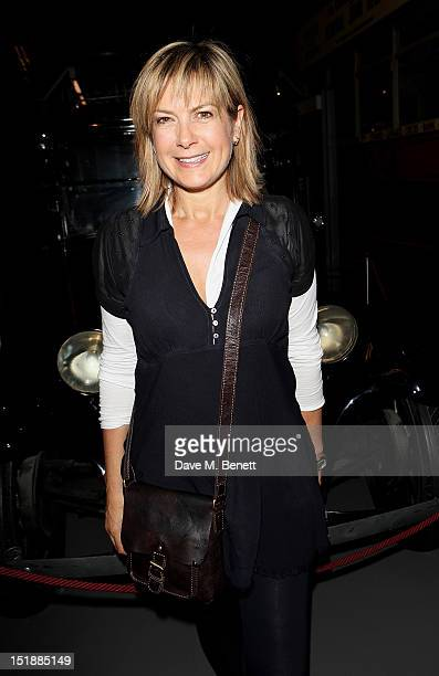 Guest performer Penny Smith attends an after party celebrating the Mamma Mia Gala Performance in support of BBC Children In Need at the London...