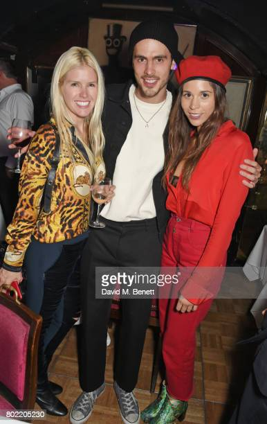 Guest Pete Gay and Ali Tamposi attend the Rita Ora dinner and performance at Annabel's on June 27 2017 in London England