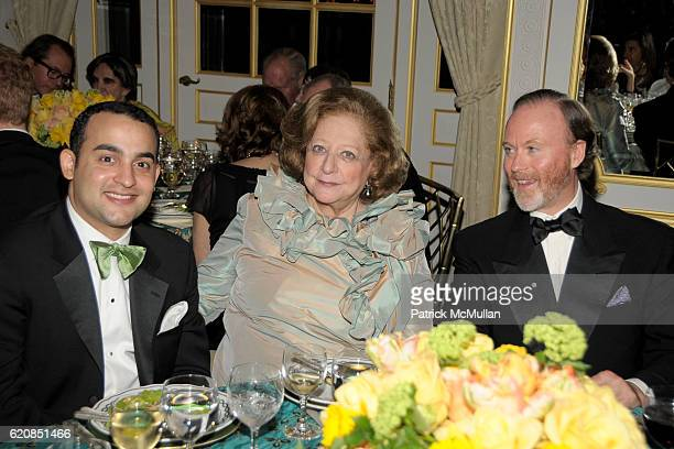 Guest Princess Alexandre Romanoff and HSH Prince Pierre d'Arenberg attend Venetian Heritage Event Honoring Larry Lovett at St Regis Hotel on March 31...