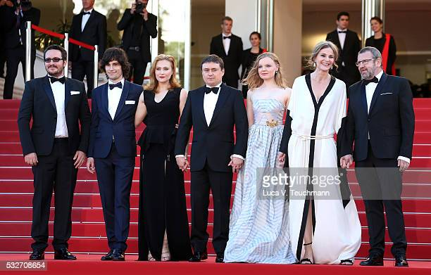 Guest Rares Andrici Malina Manovici Cristian Mungiu Maria Dragus Lia Bugnar and Adrian Titieni attends the 'Graduation ' Premiere during the 69th...