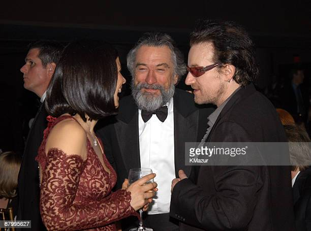 Guest Robert De Niro and Bono