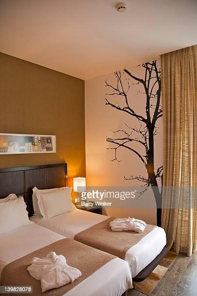 Guest room at International Design Hotel, Lisbon, Portugal