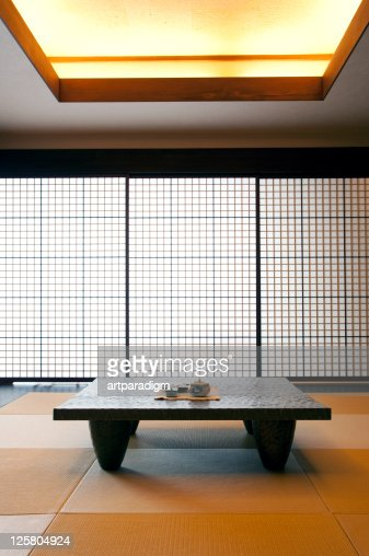 Guest room of Japanese-style hotel