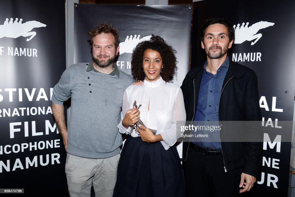 Guest, Sofia Djama and boyfriend attend the Award Ceremony of 32nd Namur International French-Language Film Festival (FIFF) on October 6, 2017 in Namur, Belgium.