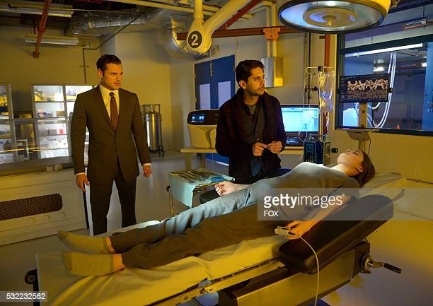 Guest star Adan Canto Adhir Kalyan and Ciara Bravo in the Gelassenheit Season Finale episode of SECOND CHANCE airing Friday March 25 on FOX