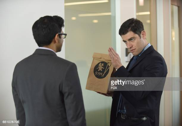 Guest star Asif Ali and Max Greenfield in the 'Young Adult' episode of NEW GIRL airing Tuesday Feb 28 on FOX