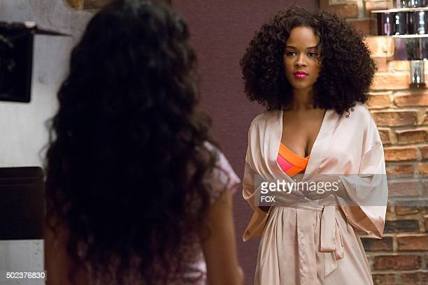 Guest star Jamila Velazquez and Serayah McNeill in the Be True episode of EMPIRE airing Wednesday Oct 21 on FOX