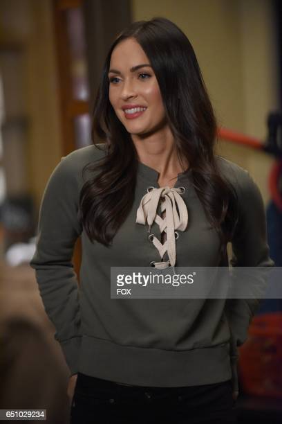 Guest star Megan Fox in the 'Socalyalcon VI' episode of NEW GIRL airing Tuesday March 14 on FOX