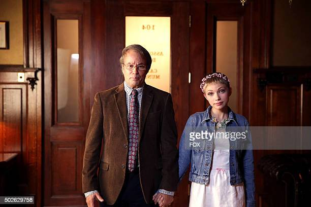 Guest stars Philip Casnoff and Tavi Gevinson in the 'Beware Of Young Girls' episode of SCREAM QUEENS airing Tuesday Nov 3 on FOX