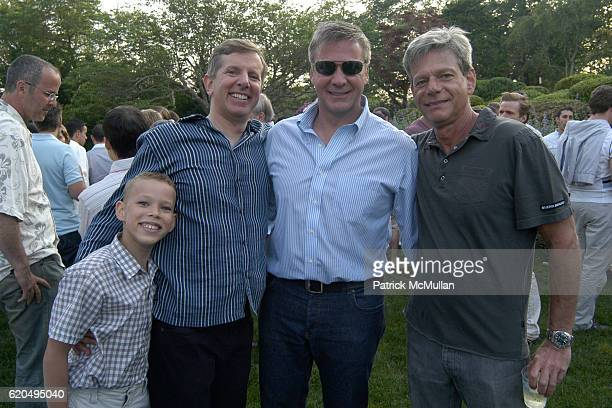 Guest Steve Brown Nick Poshkus and Steve Saide attend School's Out 2008 benefiting The HetrickMartin Institute home of the Harvey Milk High School at...