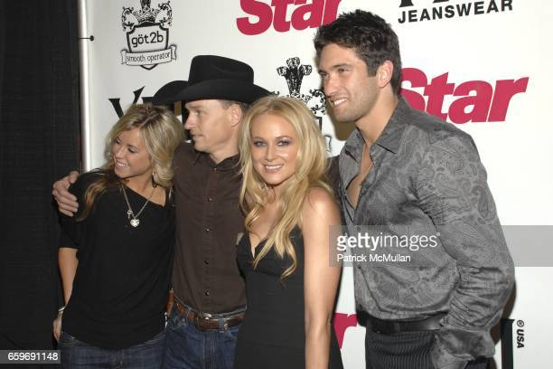 Guest Ty Murray Jewel and guest attend STAR MAGAZINE CELEBRATES YOUNG HOLLYWOOD ISSUE at Apple Restaurant Lounge on March 11 2009 in West Hollywood...