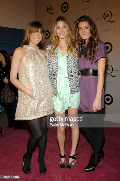 guest Whitney Port and guest attend McQ Alexander McQueen for Target Debuts TARGET McQ MARKET in NYC at St John's Center on February 13 2009 in New...