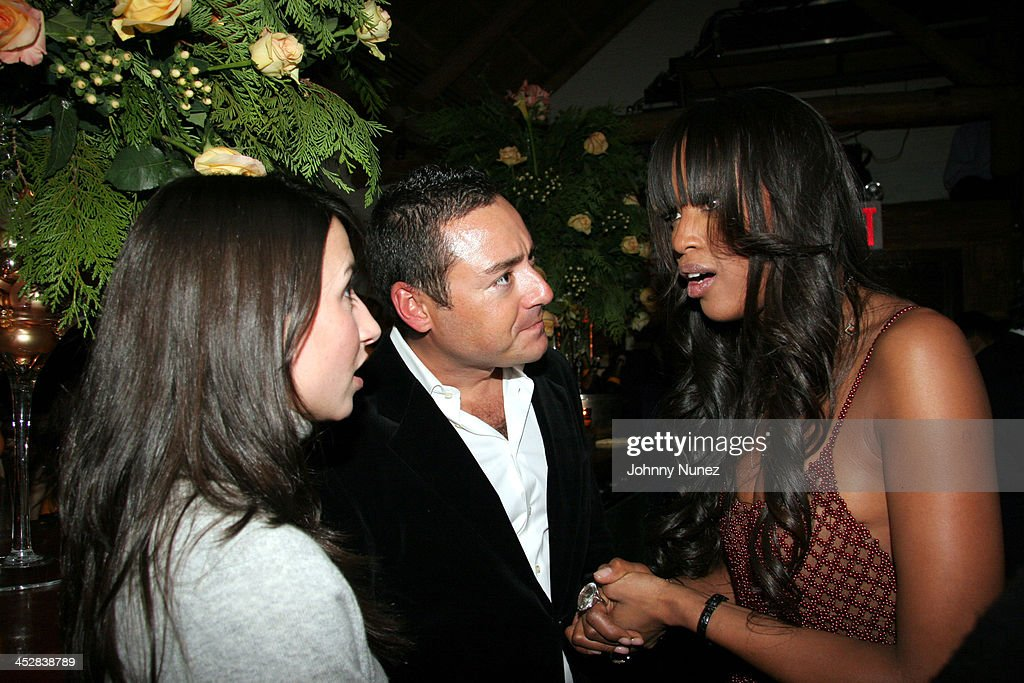 GuestJames Patrick and Naomi Campbell during Naomi Campbell and Giuseppe Cipriani Holiday Party December 5 2005 at Cipriani in New York New York...