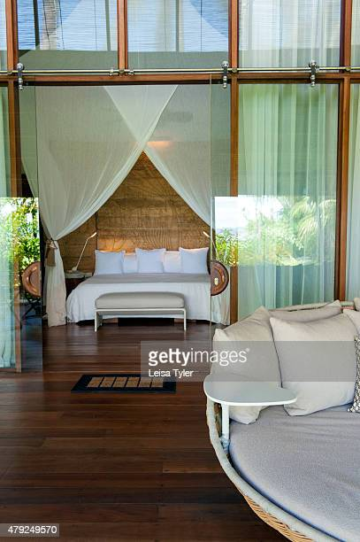 A guestroom at Dedon Island resort the 'outdoor lab' of Dedon furniture a line of highend outdoor furniture made from recycled plastic owned by Bobby...