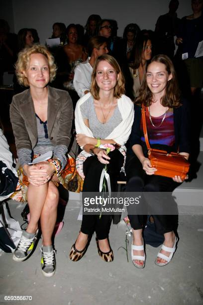 Guests and Florence Kane attend ERIN FETHERSTON Spring/Summer 2010 Collection at Milk Studios on September 13 2009 in New York City