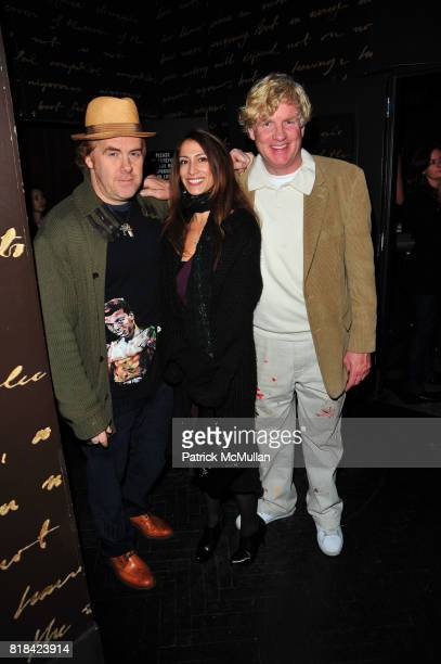 Guests and Peter Tunney attend American Red Cross Concern Worldwide and The Edeyo Foundation Fundraiser at 1 OAK on January 21 2010 in New York City