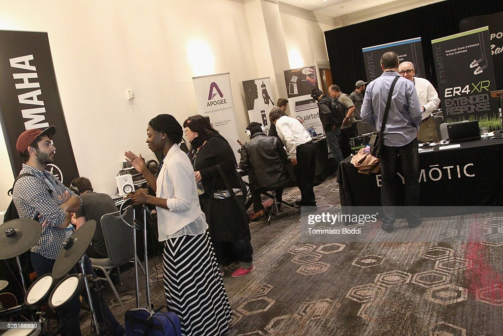 EXPO guests and vendors attend the 2016 ASCAP 'I Create Music' EXPO on April 29, 2016 in Los Angeles, California.