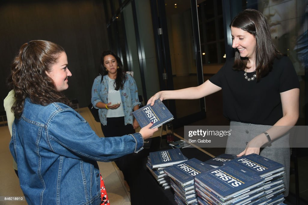 Guests are gifted copies of TIME FIRSTS Women Who Are Changing The World during TIME Celebrates FIRSTS on September 12, 2017 in New York City.