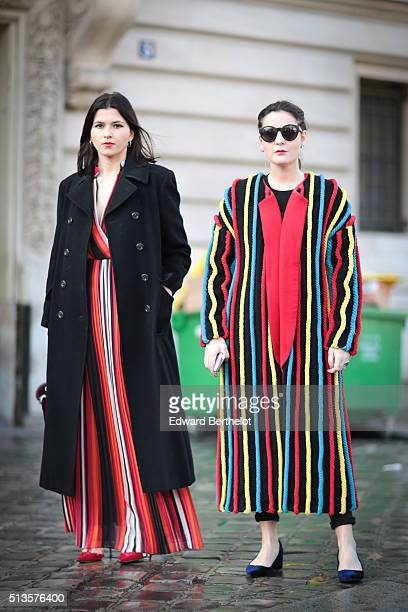 Guests are seen attending the Chloe show during Paris Fashion Week Womenswear Fall Winter 2016/2017 on March 3 2016 in Paris France