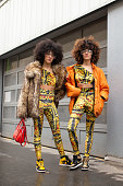 Street Style - Paris Fashion Week - Menswear F/W...