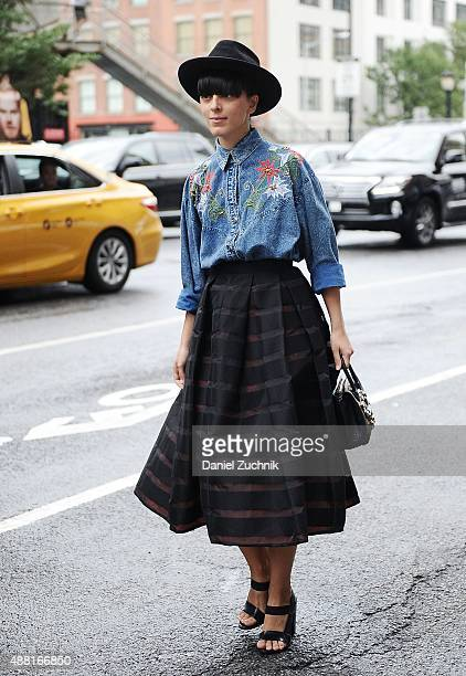Guests are seen outside the DVF show during New York Fashion Week 2016 on September 13 2015 in New York City
