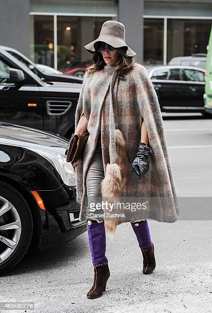 Guests are seen outside the Tibi show on February 14 2015 in New York City