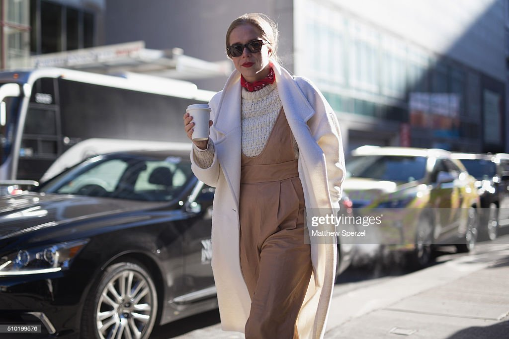 Guests arrive in Lexus cars during day 4 of New York Fashion Week: The Shows at Skylight Moynihna Station on February 14, 2016 in New York City.