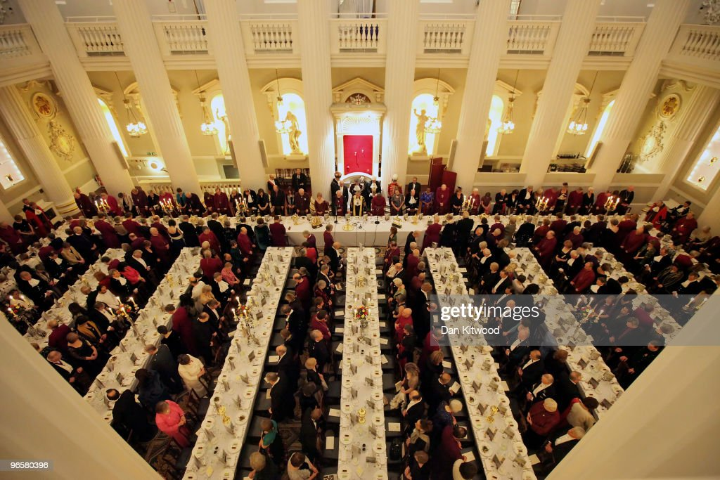 the lord mayor hosts the bishops dinner at mansion house photos