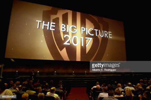 """Guests at CinemaCon 2017 Warner Bros Pictures Invites You to """"The Big Picture"""" an Exclusive Presentation of our Upcoming Slate at The Colosseum at..."""