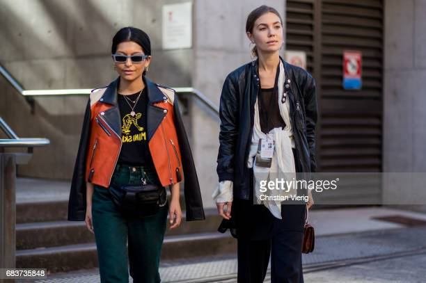 Guests at day 3 during MercedesBenz Fashion Week Resort 18 Collections at Carriageworks on May 16 2017 in Sydney Australia
