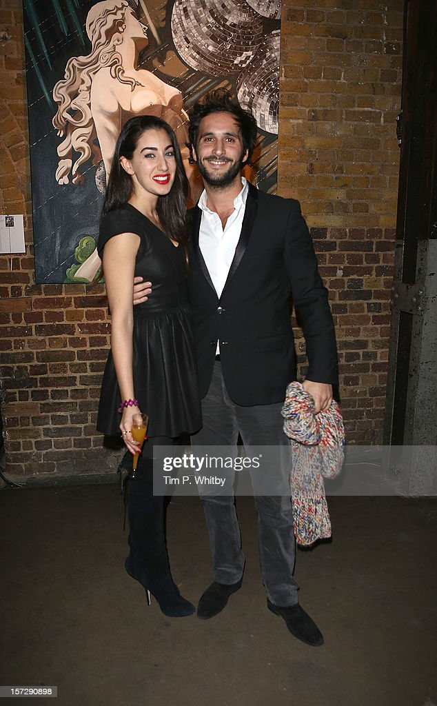 Guests at The Art of Love at Village Underground, Shoreditch at Village Underground on December 1, 2012 in London, England. All proceeds fro the evening will benefit the Walkabout Foundation.