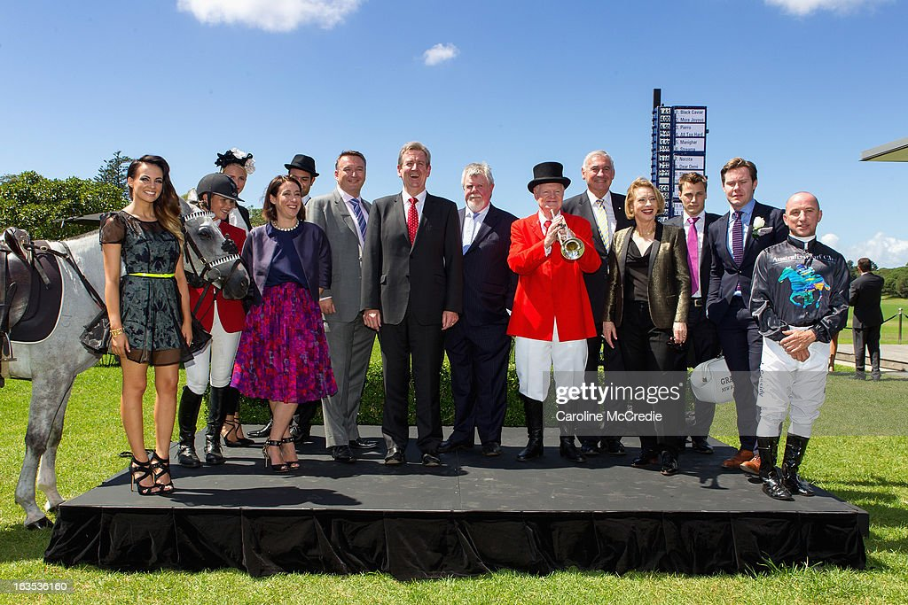 Guests at the BMW Sydney Carnival launch at Centennial Park on March 12, 2013 in Sydney, Australia.