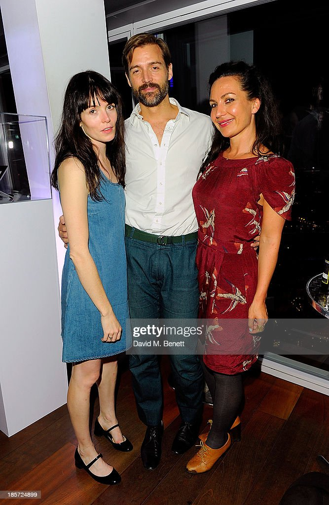 Guests at The View from The Shard on October 23, 2013 in London, England.