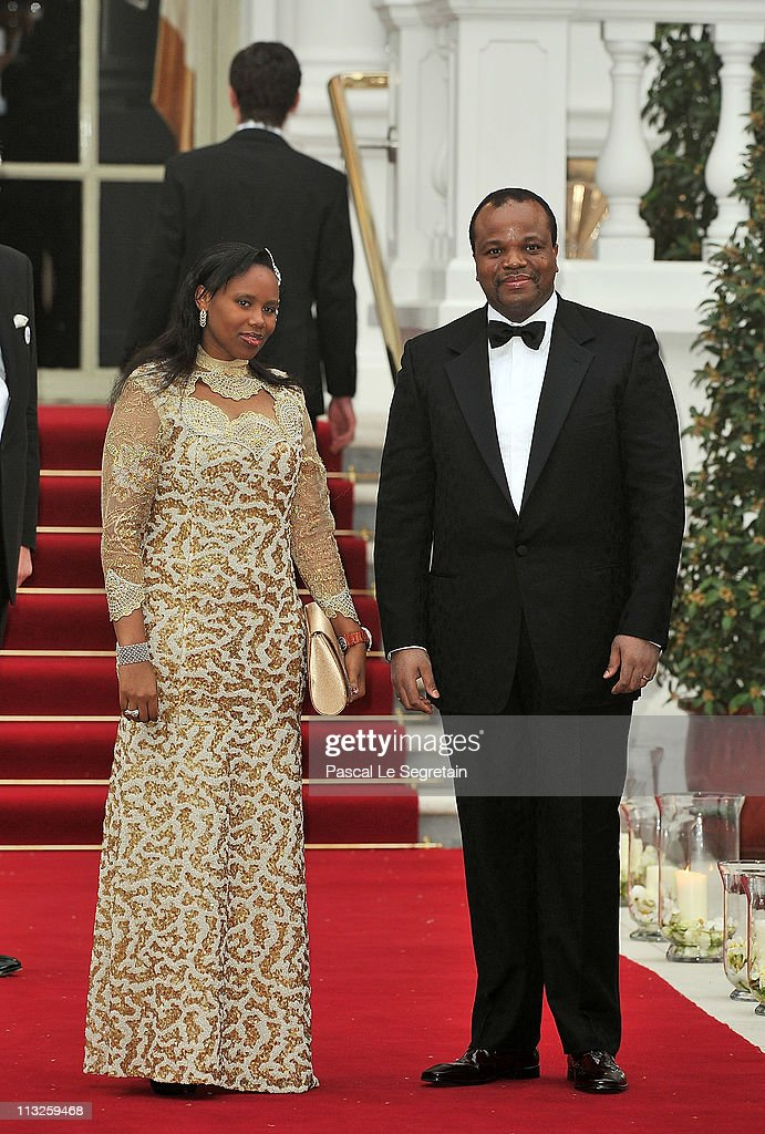 Guests attend a gala pre-wedding dinner held at the Mandarin Oriental Hyde Park on April 28, 2011 in London, England.