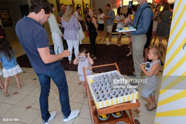 Guests attend a screening of Despicable Me 3 hosted by Gwyneth Paltrow and goop at Southampton Movie Theatre on July 5 2017 in Southampton New York