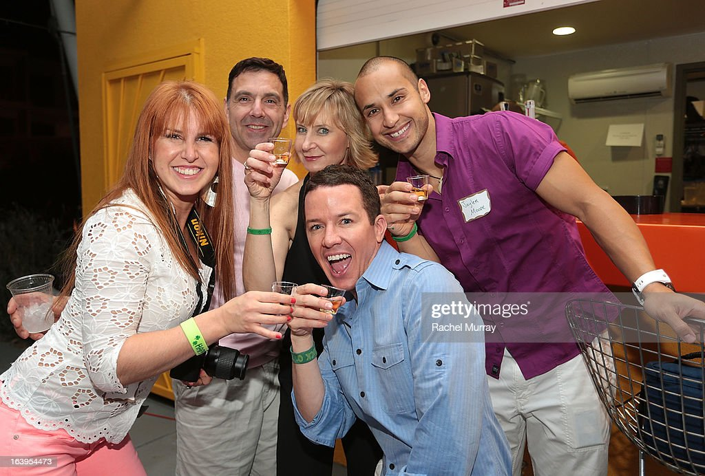 Guests attend a Tequila Tasting during the Bash To Banish Bullying Benefiting It Gets Better, a Matrix Chairs Of Change Event - Day 1 at Saguaro Hotel on March 16, 2013 in Palm Springs, California.
