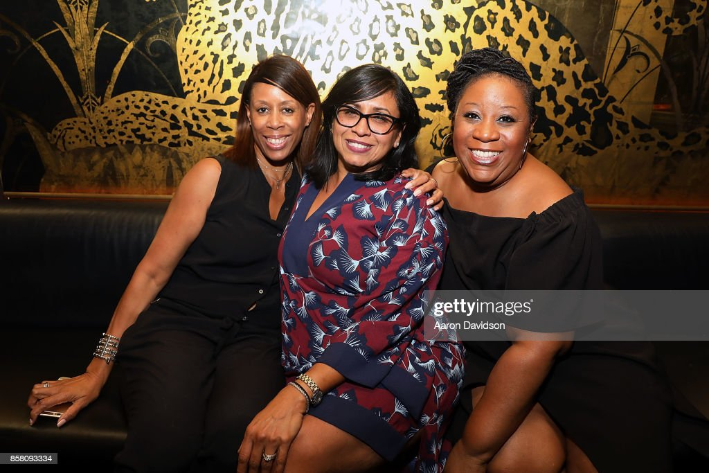 Guests attend A Toast To The Mane Event - Miami at Saxony Bar at the Faena Hotel on October 5, 2017 in Miami Beach, Florida.