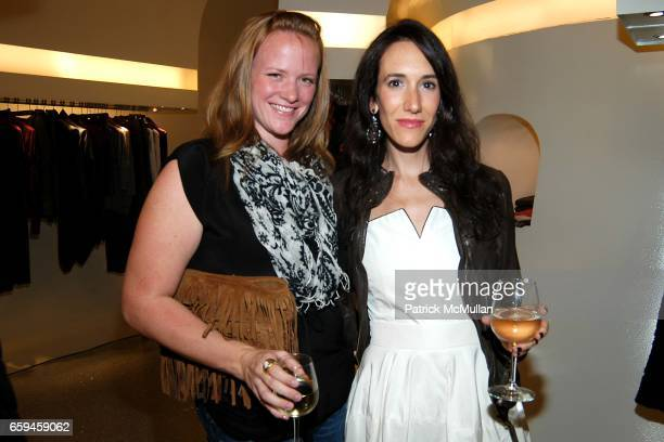 Guests attend ALEXANDER MCQUEEN One Night in Fashion Store Party New York NY at Alexander McQueen Store w14th Street on September 10 2009 in NY NY