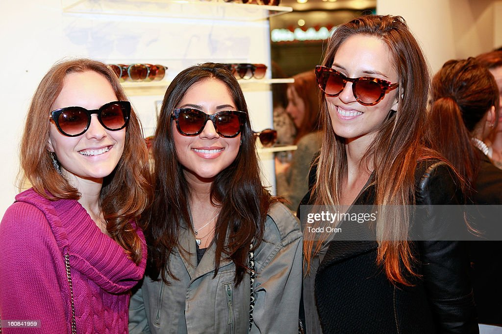 Guests attend at Garrett Leight California Optical Grand Opening on February 5, 2013 in Los Angeles, California.
