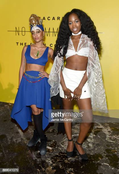 Guests attend BACARDI Swizz Beatz and The Dean Collection bring NO COMMISSION back to Miami to celebrate 'Island Might' at Soho Studios on December 7...